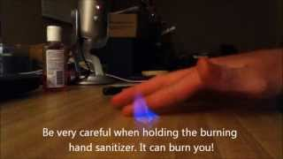 Cool things to do with Hand Sanitizer and a Lighter