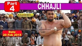Chhajli (Sangrur) Kabaddi Tournament 20 Feb 2015  Part 4 by Kabaddi365.com