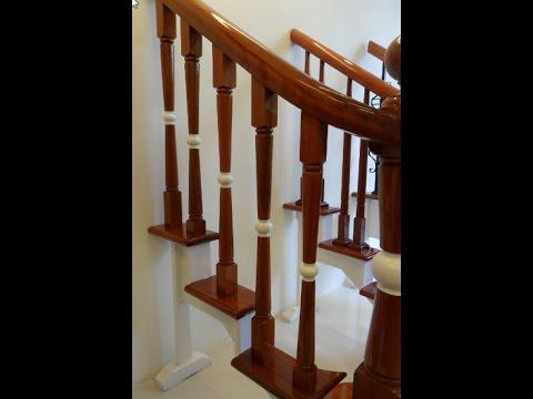con tiện cầu thang gỗ Tổng hợp 30 mẫu con tiện cầu thang cho thiết kế nhà đẹp   YouTube con tiện cầu thang gỗ