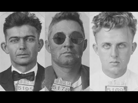 Vintage Mugshots of Criminals in San Diego From the 1920's: Part 1