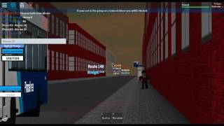 Railfanning on Roblox | New Breed; ALX200 Bus 19 in service - Woodbrook Bus Simulator #4