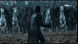 Момент битвы за Winterfell Игра престолов 6 сезон 9 серия (S6E9)