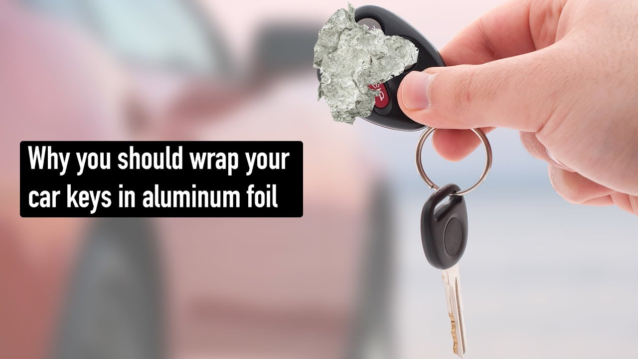 Image result for car key fob in aluminum foil