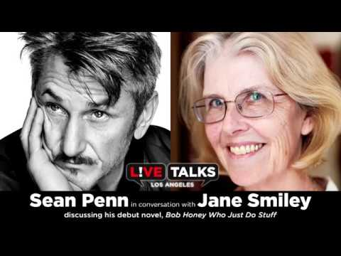 Sean Penn in conversation with Jane Smiley at Live Talks Los Angeles