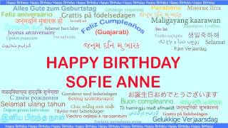 SofieAnne   Languages Idiomas - Happy Birthday