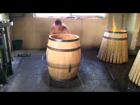 how a wine barrel is made