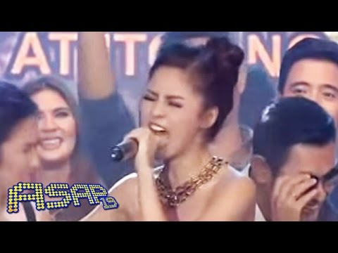 Kim Chiu belts 'Luha' on ASAP Karaokey