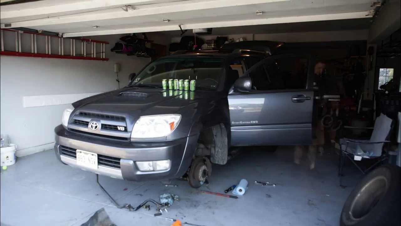 3 Quot Toytec Lift 2003 Toyota 4runner Youtube
