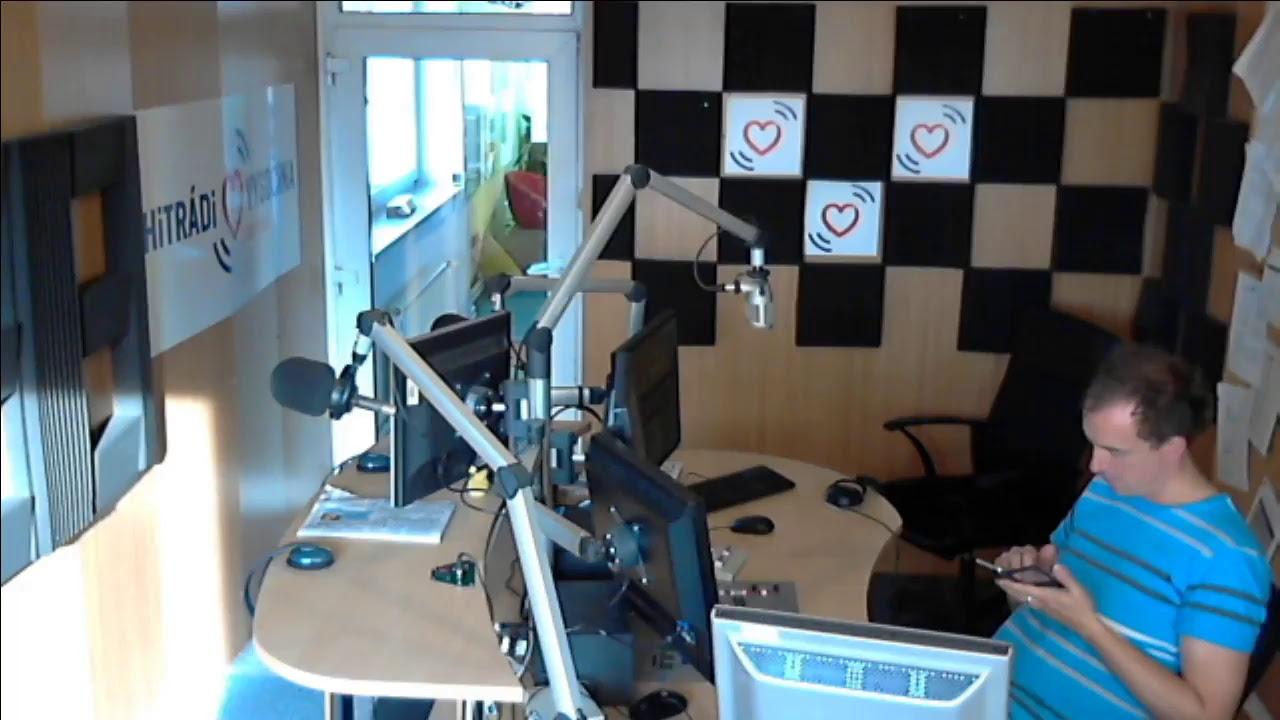 Hitrádio Vysočina – kamera ze studia