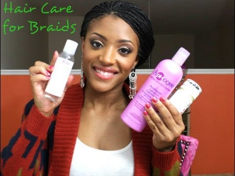 """My"" Hair Care For Braids: Info & Products - YouTube"