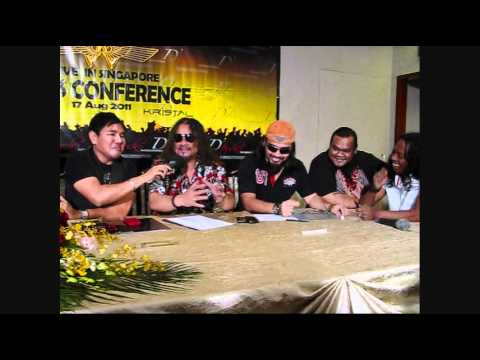 Glam TV: Wings Live In Singapore Press Conference by Hafeez Glamour - Part 1