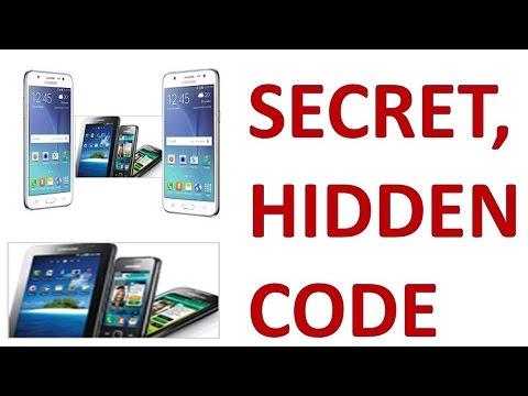 Samsung J7 J5 J3 J2 J1 Mobile Codes | Samsung Hidden Feature | Samsung  Mobile Secret Codes