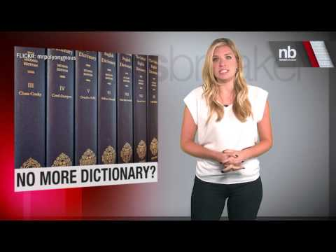 New Edition of Oxford English Dictionary May Be Too Big For Print