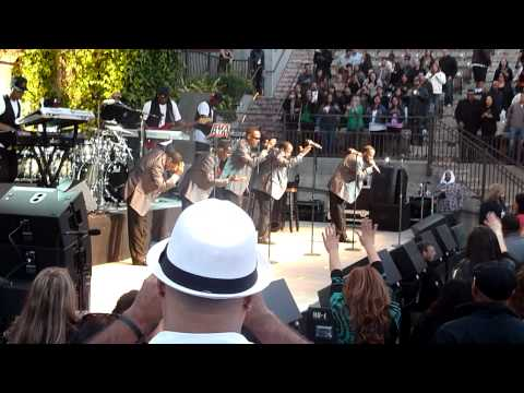 "New Edition performing ""If It Isn't Love"" live @ Mountain Winery in Saratoga on June 25, 2012"
