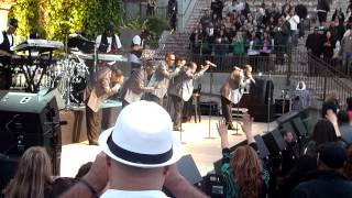 New Edition performing If It Isn't Love live @ Mountain Winery in Saratoga on June 25, 2012