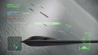 Ace Combat Infinity: B-2 10 Lv., MAGM 5 lv.,  NTDM, Rank S