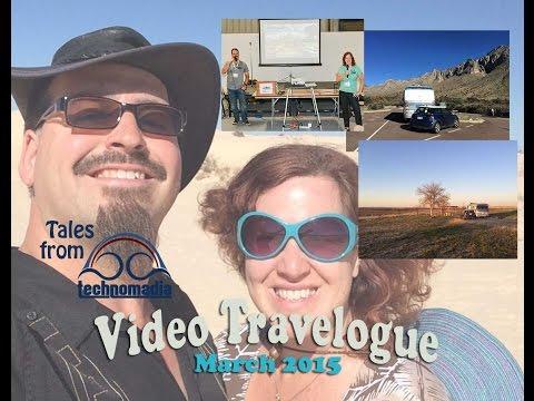 Tucson, AZ to Austin, TX Repositioning (Video Travelogue: Mar 2015)