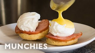 Making Eggs Benedict With Almost No Equipment