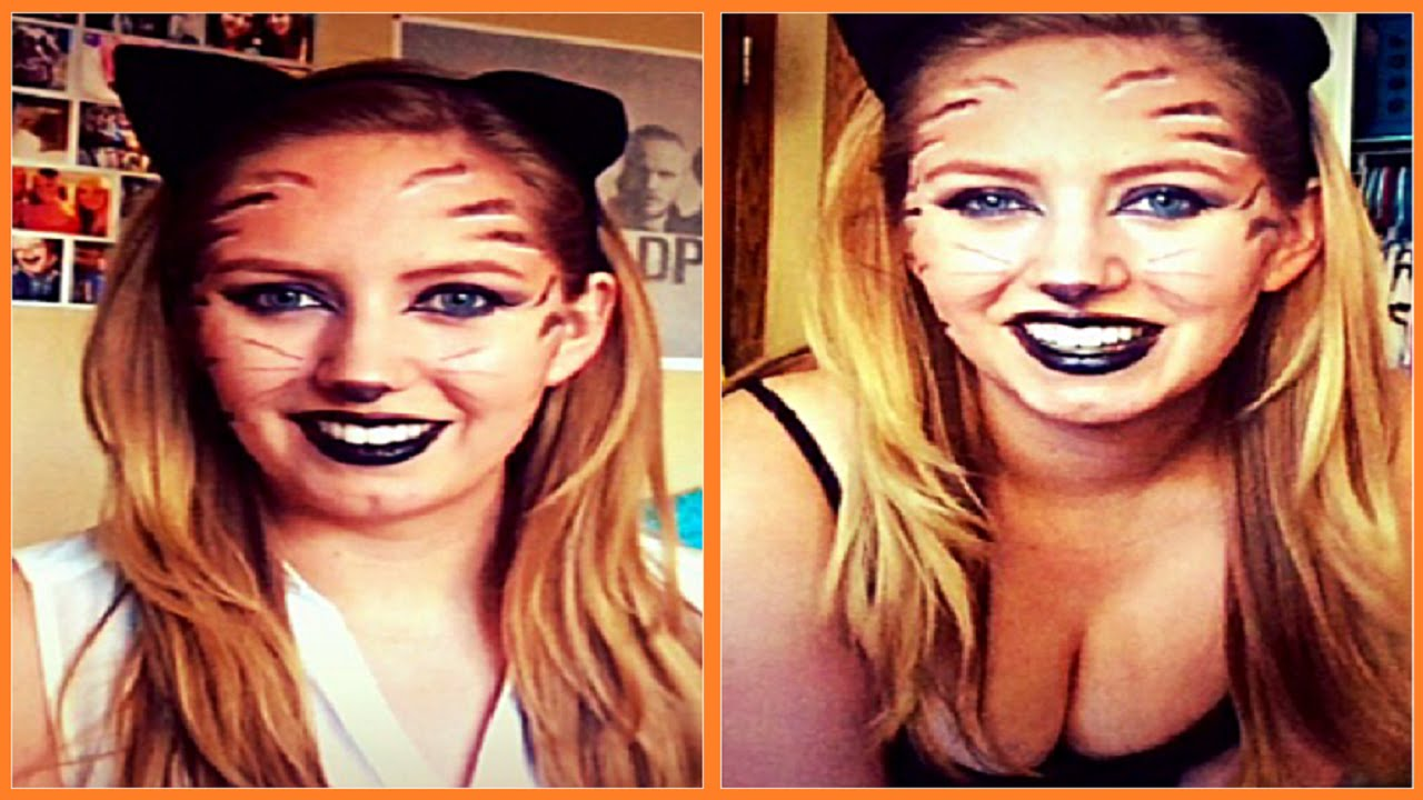 tigercat halloween makeupcostume tutorial makeupbykate youtube - Tiger For Halloween