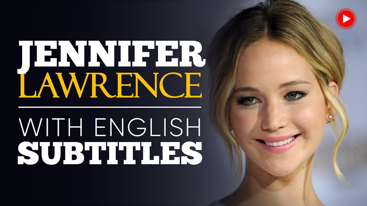 ENGLISH SPEECH | JENNIFER LAWRENCE: Anti-Corruption (English Subtitles)