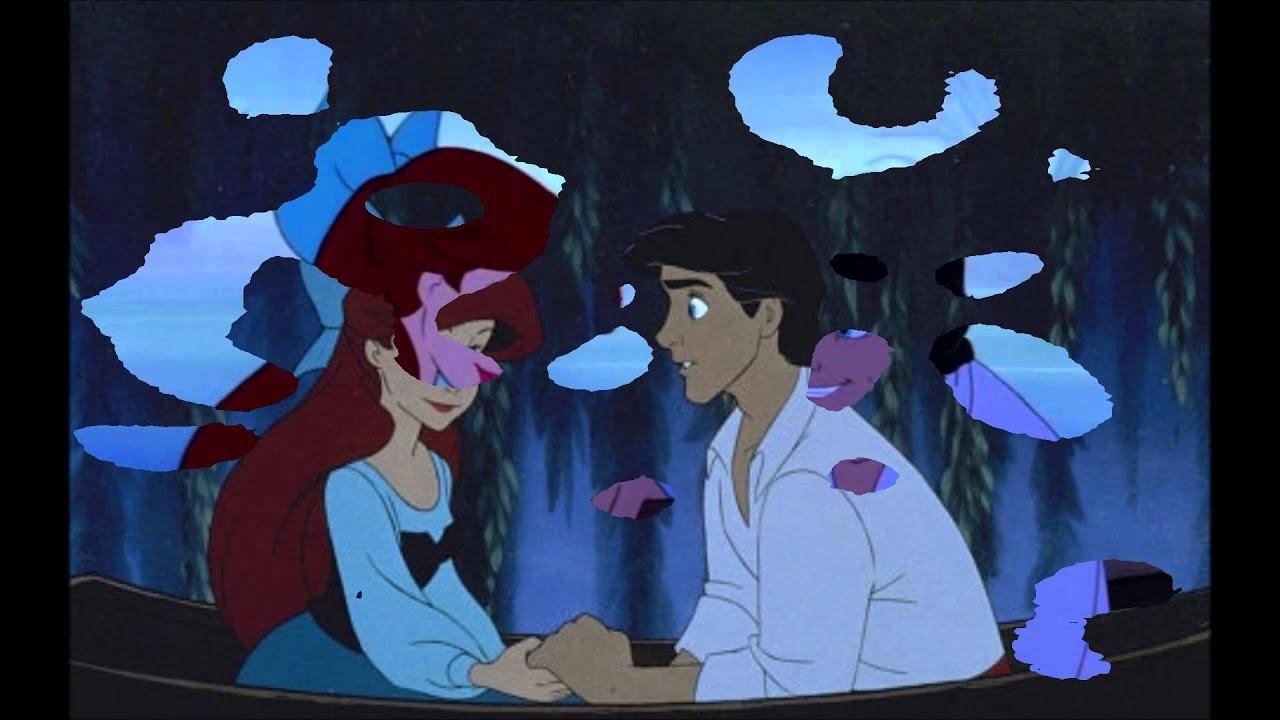 Aunt kiss the girl the little mermaid goth