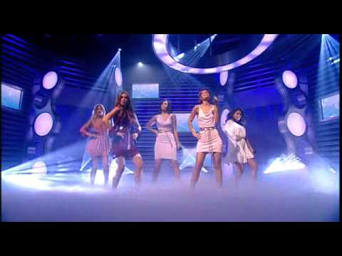 The Saturdays - Higher ft Flo Rida -LIVE National Lottery 2010