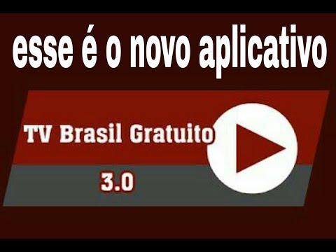 nova versão do aplicativo tv Brasil gratuito 30