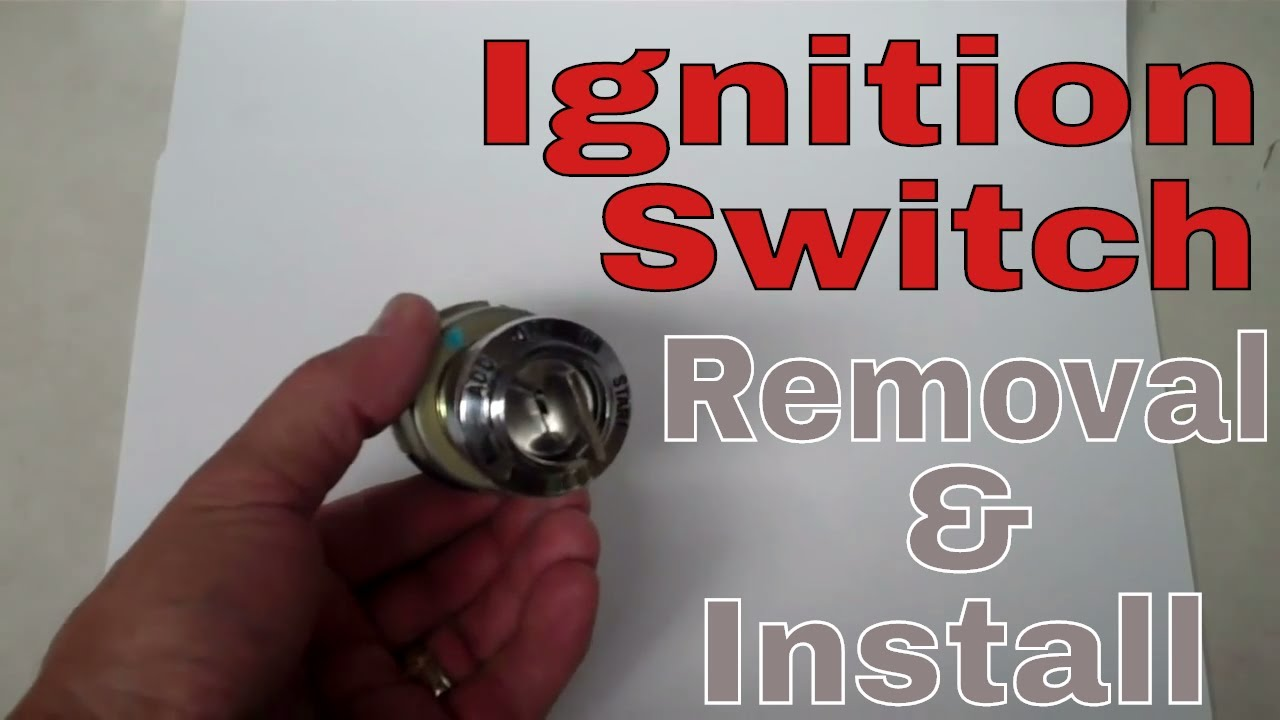 Wild Horses Ignition Switch Removal Install For A 66 77