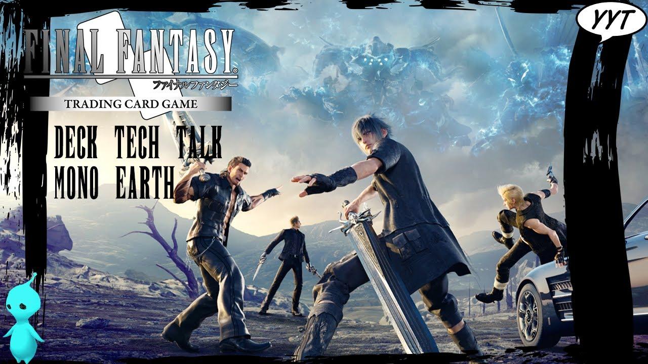 Tama 7-074C Earth Final Fantasy TCG: Opus 7 Common