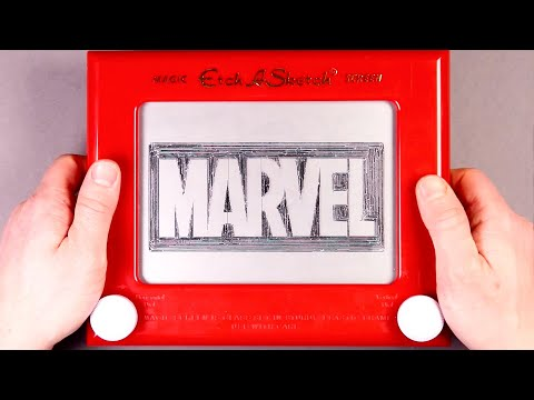 Can You Draw Spider-Man on an Etch A Sketch? thumbnail