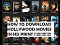 HOW TO WATCH OR DOWNLOAD LATEST MOVIES IN HD PRINT IN PC OR MOBILE [TUTORIAL]