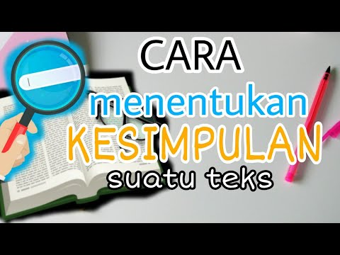Membuat Kesimpulan dari Suatu Bacaan | Muatan Pelajaran Bahasa Indonesia Tema 1 Kelas 6 SD Kur 2013