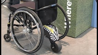 Neues Rollstuhl Antriebssystems SMOOV Alber