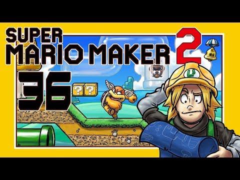 Let's Play Super Mario Maker 2 [German][Blind][#36] - Horror darf nicht fehlen!