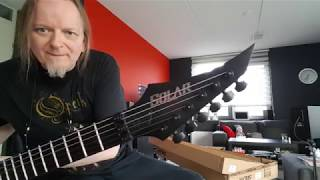 Unboxing Solar V1.6 FRC guitar