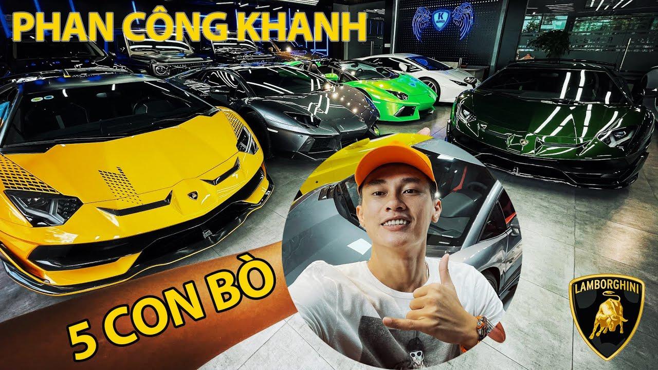 """Khanh Supper TRÁNH DỊCH cùng """"ĐÀN BÒ"""" Lamborghini Siêu Chất !!! Xuất hiện Aventador SVJ màu ĐỘC - LẠ"""