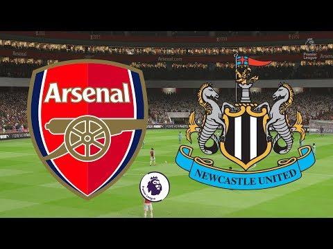 Premier League 2018/19 - Arsenal Vs Newcastle United - 31/03/19 - FIFA 19