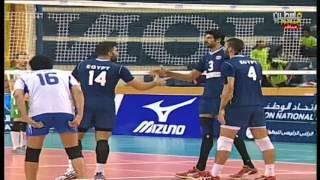 منتخب العراق 0 - 3 منتخب مصر (مباراة بكرة الطائرة) البطولة العربية في 23 11 2016