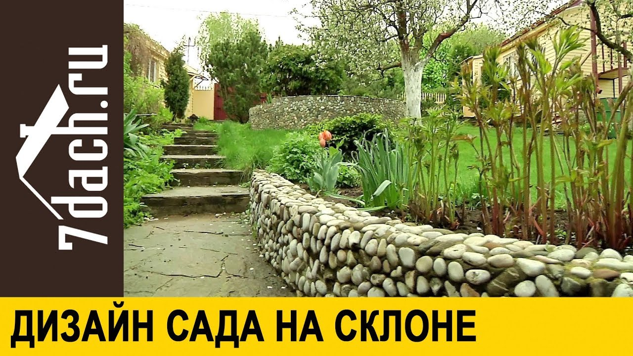 Сад на склоне: достоинства ландшафта - 7 дач