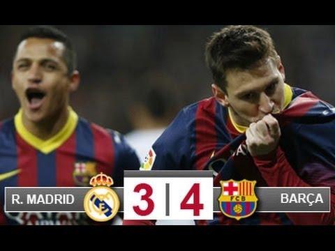 R.Madrid 3 - FC Barcelona 4 Liga BBVA Carrusel Deportivo Cadena Ser