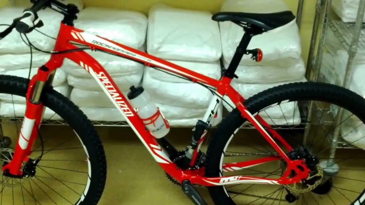 29er Mountain Bike >> 2012 specialized rockhopper comp 29er - YouTube