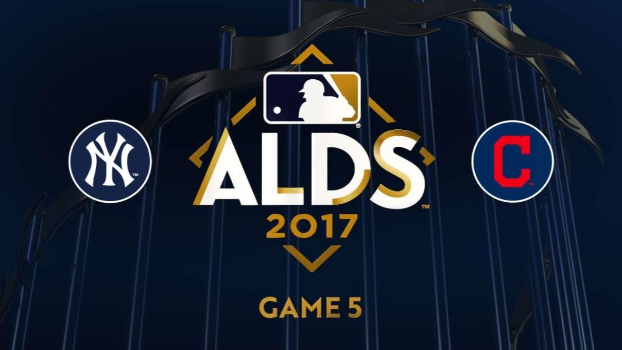 Didi homers twice as Yanks advance to ALCS: 10/11/17