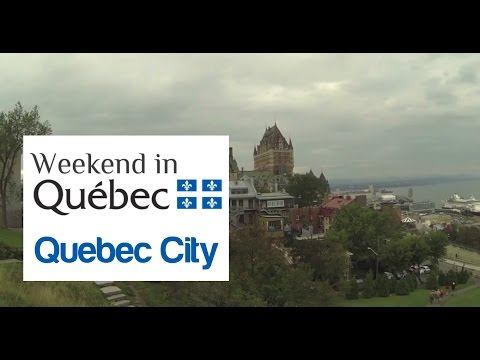 Sightseeing Quebec City during Long Weekend in Canada  (#Travel)