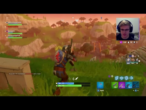 FortNite BR, Ep 2. Carried by a Marine??