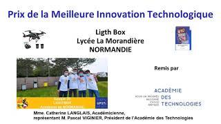 OSI 2021 - Remise des prix - Prix de la meilleure innovation technologique