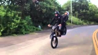"HAWAII 5-0 ""Motorcycle Nose Wheelie/ T-bone"""