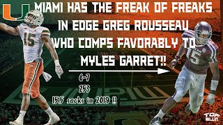 Study: Miami EDGE FREAK Greg Rousseau LAB-CREATED!!