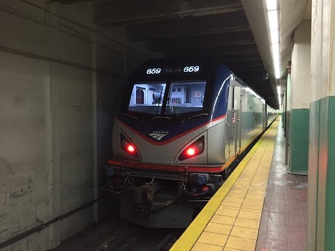 SEPTA, NJT & Amtrak HD 60fps: Borrowed Push-Pull Power on SEPTA Regional Rail Trains (7/11/16)