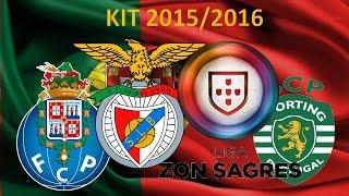 liga ZON SAGRES (PORTO, BENFICA, SPORTING) 2015/2016