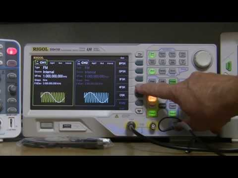A First Look - DG4102 Function, Arbitrary Generator